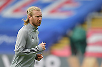 Tim Ream of Crystal Palace warms up before  the Premier League behind closed doors match between Crystal Palace and Fulham at Selhurst Park, London, England on 28 February 2021. Photo by Vince Mignott / PRiME Media Images.