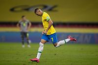 4th June 2021; Beira-Rio Stadium, Porto Alegre, Brazil; Qatar 2022 qualifiers; Brazil versus Ecuador; Richarlison of Brazil celebrates his goal in the 65th minute for 1-0