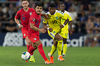 SAINT PAUL, MN - JUNE 18: Nick Lima of the United States during a 2019 CONCACAF Gold Cup group D match between the United States and Guyana on June 18, 2019 at Allianz Field in Saint Paul, Minnesota.