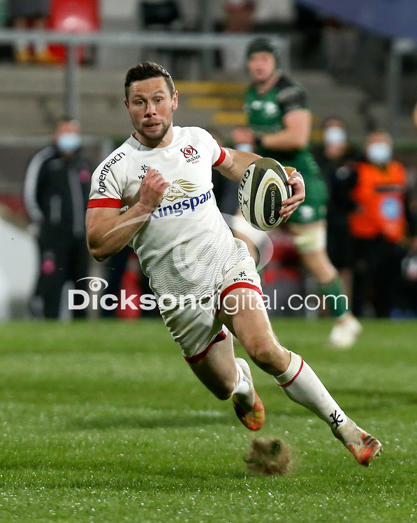 Friday 23rd April 2021; John Cooney during the first round of the Guinness PRO14 Rainbow Cup between Ulster Rugby and Connacht Rugby at Kingspan Stadium, Ravenhill Park, Belfast, Northern Ireland. Photo by John Dickson/Dicksondigital