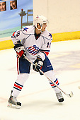 December 30th, 2007:  Stefan Meyer (10) of the Rochester Amerks looks for the puck during the third period of play.  The Syracuse Crunch shutout the Rochester Amerks 4-0 to earn the win at Blue Cross Arena at the War Memorial in Rochester, NY.  Photo Copyright Mike Janes Photography 2007.