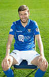 St Johnstone FC…Season 2019-20<br />Murray Davidson<br />Picture by Graeme Hart.<br />Copyright Perthshire Picture Agency<br />Tel: 01738 623350  Mobile: 07990 594431