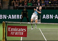 Rotterdam, The Netherlands, 14 Februari 2019, ABNAMRO World Tennis Tournament, Ahoy, quarter finals, doubles, Joe Salisbury (GBR), <br /> Photo: www.tennisimages.com/Henk Koster