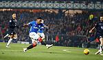 27.02.2019 Rangers v Dundee: Alfredo Morelos goes close