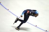 SCHAATSEN: Calgary: Essent ISU World Sprint Speedskating Championships, 28-01-2012, 1000m Heren, Shani Davis (USA), ©foto Martin de Jong