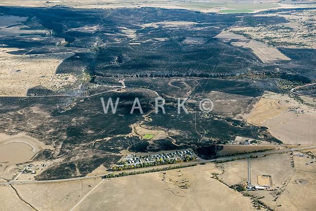 Beulah, Colorado wildfire.  October 13, 2016