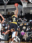 Alabama State Hornets guard Taila Arrington (12) in action during the SWAC Tournament game between the Southern Lady Jaguars and the Alabama State Hornets at the Special Events Center in Garland, Texas. Southern defeats Alabama State 58 to 39.