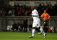 Pictured: Jason Scotland of Swansea City in action <br /> Picture by D Legakis / Athena Picture Agency, Swansea, 07815441513