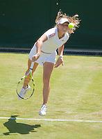 23-6-09, England, London, Wimbledon, Caroline Wozniacki