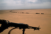 Southern Iraq<br /> February 28, 1991<br /> <br /> The American military moves into Iraq after liberating Kuwait.