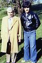 USA 1978 .Left, general Mustafa Barzani with Ahmed Assad Agha  .USA 1978 .A gauche, le general Mustafa Barzani avec Ahmed Assad Agha