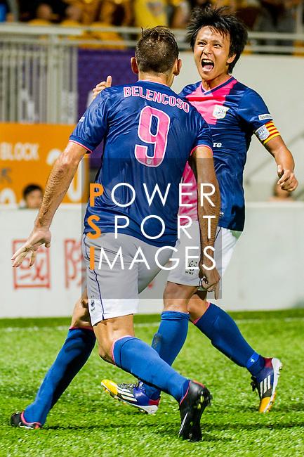 Kitchee vs BC Rangers during the HKFA Premier League at the Mong Kok Stadium on 31 October 2014 in Hong Kong, China. Photo by Chung Yan Man / Power Sport Images