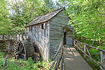 The John Cable Mill in Cades Cove, Great Smoky Mountains National Park, Tennesee, USA