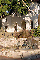 Mission San Luis Obispo de Tolosa; Yach Ka, The fish/steelhead by Paula Zima