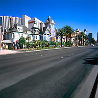 Las Vegas, Nevada, USA - Harrah's Las Vegas Hotel and Casino along The Strip (Las Vegas Boulevard)