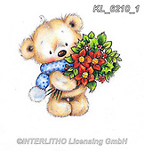 CHRISTMAS ANIMALS, WEIHNACHTEN TIERE, NAVIDAD ANIMALES, paintings+++++,KL6210/1,#xa# ,sticker,stickers