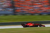 July 3rd 2021; F1 Grand Prix of Austria, qualifying sessions;  55 SAINZ Carlos (spa), Scuderia Ferrari SF21 during the  2021 Austrian Grand Prix, 9th round of the 2021 FIA Formula One World Championship -