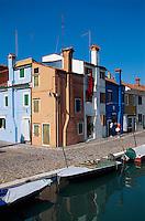 Burano bei Venedig, Venetien, Italien