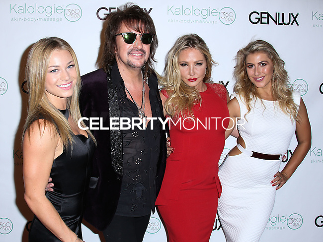 BEVERLY HILLS, CA, USA - JULY 24: Nikki Lund, Richie Sambora, Nikki Lund, Emma Slater at the Genlux Magazine Summer July 2014 Issue Release Party held at the Luxe Hotel on July 24, 2014 in Beverly Hills, California, United States. (Photo by Xavier Collin/Celebrity Monitor)