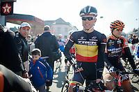 Belgian Champion Stijn Devolder (BEL) at the start<br /> <br /> GP Le Samyn 2014