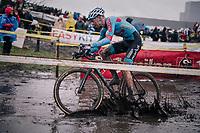 Dieter Vanthourenhout (BEL/Marlux-Bingoal)<br /> <br /> Superprestige cyclocross Hoogstraten 2019 (BEL)<br /> Elite Men's Race<br /> <br /> ©kramon