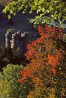 Europe/France/Auvergne/15/Cantal/Tournemire: Château d'Anjony(édifié au XVème siècle par Louis II d'Anjony)
