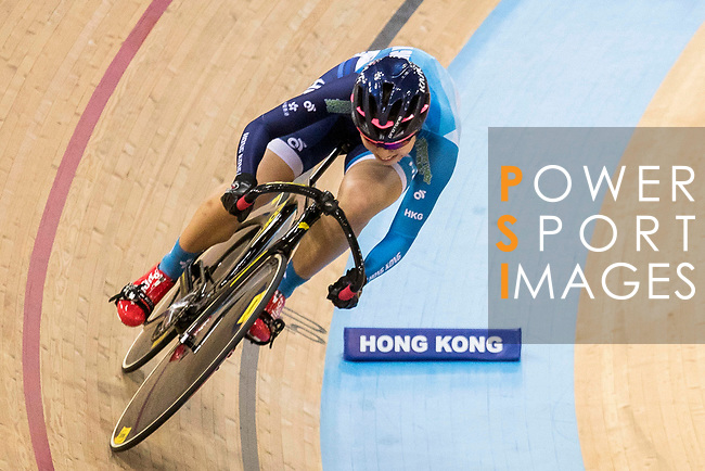Ma Wing Yu of the Hong Kong team competes in the Women's Sprint - Qualifying as part of the 2017 UCI Track Cycling World Championships on 13 April 2017, in Hong Kong Velodrome, Hong Kong, China. Photo by Chris Wong / Power Sport Images