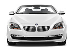 Straight front view of a 2010 BMW 6 Series 640i Convertible