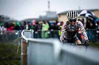 Anna Kay (GBR)<br /> <br /> Women's U23 race<br /> UCI 2020 Cyclocross World Championships<br /> Dübendorf / Switzerland<br /> <br /> ©kramon