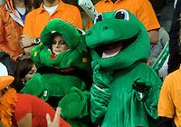 21-9-08, Netherlands, Apeldoorn, Tennis, Daviscup NL-Zuid Korea, :  dutch supporters