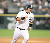 A.J. Pierzynski of the Chicago White Sox vs. the Florida Marlins: June 19th, 2007 at Wrigley Field in Chicago, IL.  Photo copyright Mike Janes Photography 2007.