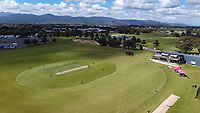 A general view the women's Hallyburton Johnstone Shield one-day cricket match between the Wellington Blaze and Central Hinds at Donnelly Park in Levin, New Zealand on Sunday, 6 December 2020. Photo: Dave Lintott / lintottphoto.co.nz
