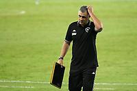 Rio de Janeiro (RJ), 03/03/2021 - Botafogo-Boavista - Marcelo Chamusca treinador do Botafogo,durante partida contra o Boavista,válida pela 1ª rodada da Taça Guanabara,realizada no Estádio Nilton Santos (Engenhão), na zona norte do Rio de Janeiro,nesta quarta-feira (03).