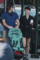 OCT 15 Norman Reedus and Diane Kruger seen walking in NYC