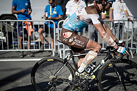 Alexis Vuillermoz (FRA/AG2R La Mondiale) crossing the finish line in bandages<br /> <br /> Stage 9: Saint-Étienne to Brioude(170km)<br /> 106th Tour de France 2019 (2.UWT)<br /> <br /> ©kramon