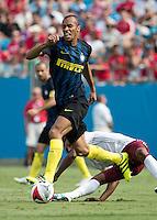 Charlotte, NC - July 30, 2016: International Champions Cup, Bayern Munich vs Inter Milan.  Final score Bayern Munich 4, Inter Milan 1.