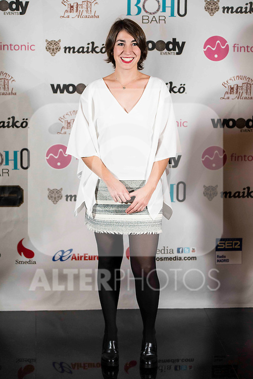 "Alma Obregon attends to the presentation of the "" Te elegiria otra vez"" theater play at Hotel Vincci Gran Via in Madrid. January 13, 2016<br /> (ALTERPHOTOS/BorjaB.Hojas)"