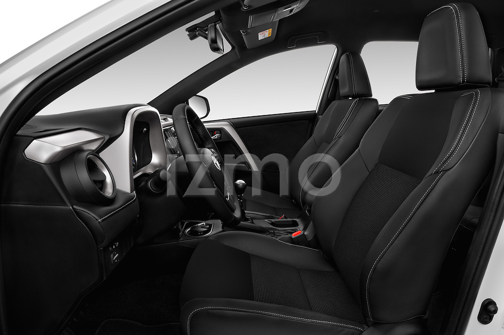 Front seat view of 2016 Toyota RAV4 Style 5 Door SUV Front Seat  car photos