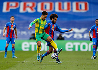 13th March 2021; Selhurst Park, London, England; English Premier League Football, Crystal Palace versus West Bromwich Albion; Matheus Pereira of West Bromwich Albion challenges Jairo Riedewald of Crystal Palace