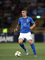 Football: Uefa under 21 Championship 2019, Italy -Poland, Renato Dall'Ara stadium Bologna Italy on June19, 2019.<br /> Italy's Gianluca Mancini in action during the Uefa under 21 Championship 2019 football match between Italy and Poland at Renato Dall'Ara stadium in Bologna, Italy on June19, 2019.<br /> UPDATE IMAGES PRESS/Isabella Bonotto