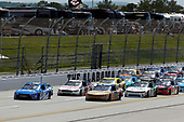 NASCAR Xfinity Series<br /> Sparks Energy 300<br /> Talladega Superspeedway, Talladega, AL USA<br /> Saturday 6 May 2017<br /> Daniel Suarez, Peak Antifreeze & Coolant Toyota Camry Kasey Kahne, Armour Camaro Chevrolet Camaro<br /> World Copyright: Matthew T. Thacker<br /> LAT Images<br /> ref: Digital Image 17TAL1mt1189