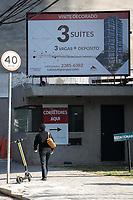SÃO PAULO, SP 14.07.2019: CONSTRUÇÃO CIVIL-SP - Prédios em construção no bairro da Vila Mariana, zona sul da capital paulista. O mercado da construção civil está bem aquecido e no mês de junho, o índice da inflação foi de O,35%. (Foto: Ale Frata/Código19)