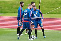 Spain's Isco Alarcon, Koke Resurreccion, Sergio Ramos and Jordi Alba during training session. June 5,2018.(ALTERPHOTOS/Acero) /NortePhoto.com NORTEPHOTOMEXICO