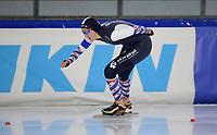 SCHAATSEN: HEERENVEEN: 10-10-2020, KNSB Trainingswedstrijd, Lotte van Beek, ©foto Martin de Jong