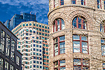 The financial district, Boston, Massachusetts, USA