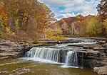 Cataract Falls State Recreation Area, Owen County, IN: LowerCataract Falls on Mill Creek