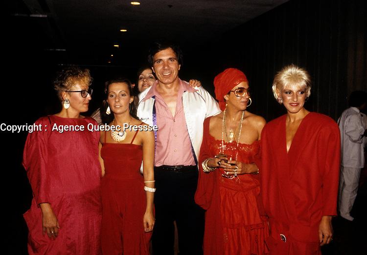 Francine Grimaldi au FFM de 1985<br /> <br /> <br /> <br /> PHOTO : Agence Quebec Presse
