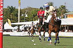 WELLINGTON, FL - FEBRUARY 12:  Rob Jornayvaz #1 of Valiente II sets up to take a shot on goal, during Sunday's Feature Match vs Coca Cola of the Ylvisaker Cup, at the International Polo Club, Palm Beach on February 12, 2017 in Wellington, Florida. (Photo by Liz Lamont/Eclipse Sportswire/Getty Images)