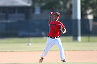 Joshua Rivera (72) of Avon Park High School in Avon Park, Florida during the Under Armour Baseball Factory National Showcase, Florida, presented by Baseball Factory on June 13, 2018 the Joe DiMaggio Sports Complex in Clearwater, Florida.  (Nathan Ray/Four Seam Images)