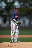 Minnesota Twins Brandon Easton (32) during a minor league Spring Training intrasquad game on March 15, 2016 at CenturyLink Sports Complex in Fort Myers, Florida.  (Mike Janes/Four Seam Images)